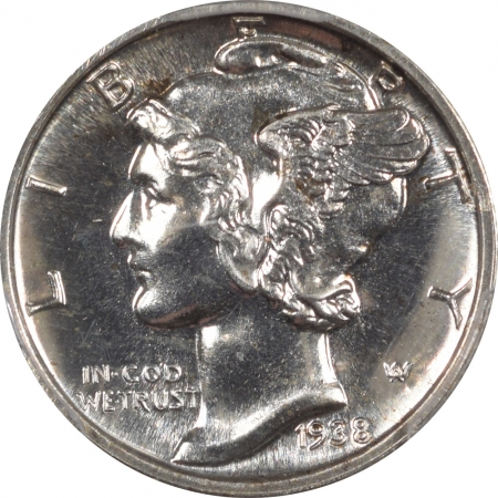 New Certified Coins 1938 PROOF MERCURY DIME PCGS PR-66 FLASHY