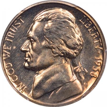 Jefferson Nickels 1938 PROOF JEFFERSON NICKEL – PCGS PR-64