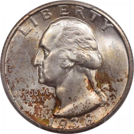 Washington Quarters 1938-S WASHINGTON QUARTER – PCGS MS-65 PRETTY!