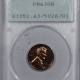 Lincoln Cents (Wheat) 1942 PROOF LINCOLN CENT – PCGS PR-63 RD RATTLER, PREMIUM QUALITY!
