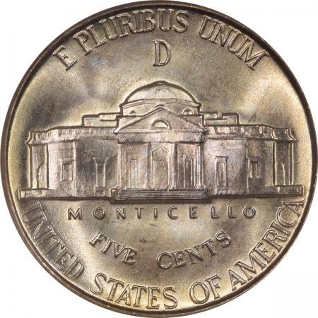 New Certified Coins 1944-D JEFFERSON SILVER WAR NICKEL NGC MS-66 FS
