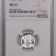New Certified Coins 1945 MERCURY DIME – NGC MS-67