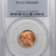 New Certified Coins 1944-S LINCOLN CENT – PCGS MS-66 RD