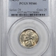 Jefferson Nickels 1945-S JEFFERSON NICKEL – PCGS MS-66