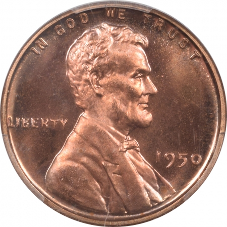 New Certified Coins 1950 PROOF LINCOLN WHEAT CENT PCGS PR-67 RD, BLAZING RED & PRETTY!