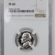New Certified Coins 1962 JEFFERSON NICKEL – NGC MS-66 NEARLY FS!