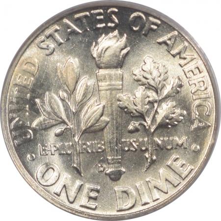 U.S. Certified Coins 1959-D ROOSEVELT DIME PCGS MS-67, SUPERB