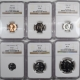 U.S. Proof Sets 1960 6 PIECE PROOF SET W/ SMALL + LARGE DATES, MATCHED NGC PR-68 STAR!, LUSTROUS