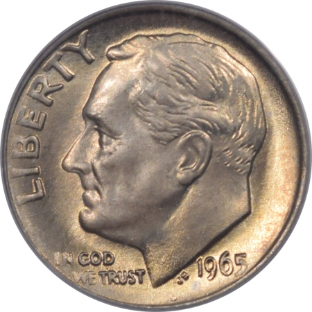 New Certified Coins 1965 ROOSEVELT DIME PCGS MS-66