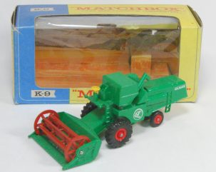 Other Collectibles 1967 MATCHBOX #K-9 CLAAS COMBINE HARVESTER MINT W/ EXC BOX