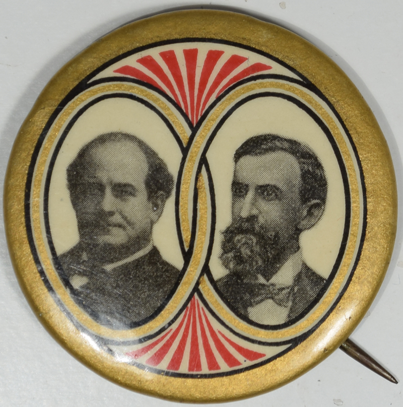 Other Collectibles 1908 1 3/4″ BRYAN-KERN JUGATE, GRAPHIC & SCARCE JUGATE CAMPAIGN BUTTON near-MINT