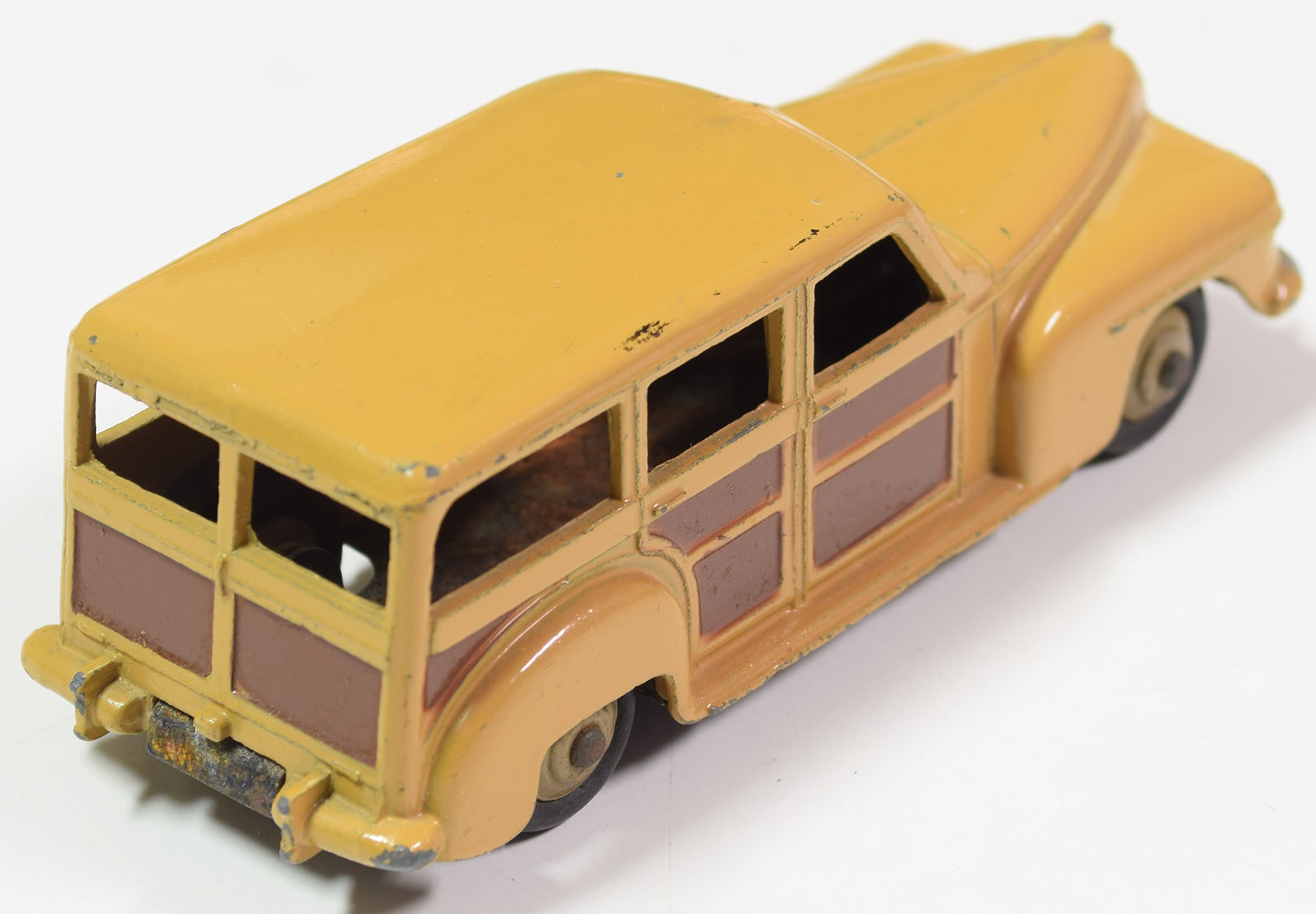 Dinky 1950 DINKY #27f ESTATE CAR VG+ WITH OXIDIZED BASE CAT $90