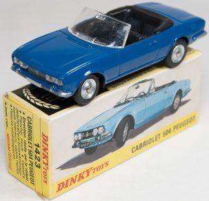 Dinky 1969 DINKY #1423 PEUGEOT CABRIOLET MINT W/ VG+ BOX