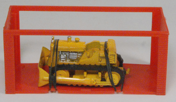 "Dinky 1968 DINKY #94 ""MINI DINKY"" INTERNATIONAL BULLDOZER MINT W/ MINT GARAGE BOX"