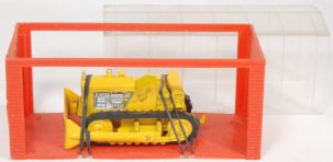 "Dinky 1968 DINKY #94 ""MINI DINKY"" INTERNATIONAL BULLDOZER MINT W/ near-MINT GARAGE BOX"