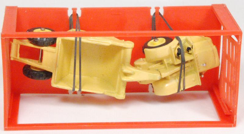 """Dinky 1968 DINKY #98 """"MINI DINKY"""" MICHIGAN SCRAPER MINT W/ near-MINT BOX"""