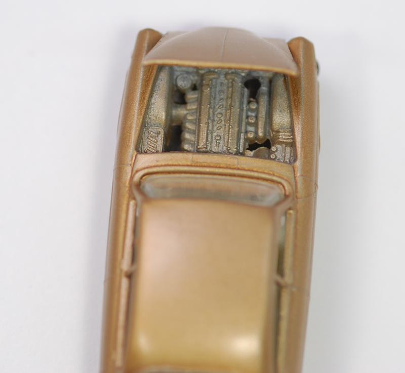 Matchbox 1964 MATCHBOX #28 JAGUAR MARK TEN, BRONZE, GPW near-MINT w/ EXC BOX; TRANSITIONAL LESNEY BASE; FIRST THAT WE HAVE EVER SEEN! EXTREMELY RARE!!