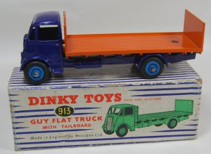 Dinky DINKY #913 GUY FLAT TRUCK w/ TAILBOARD & CHASSIS MINT w/ EXC BOX SUPERB EXAMPLE!