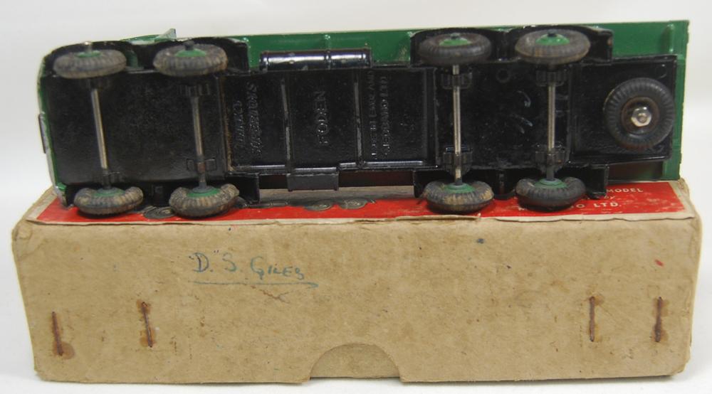 Dinky 1947 DINKY #502 FODEN FLAT TRUCK, VG+ W/ GOOD BOX