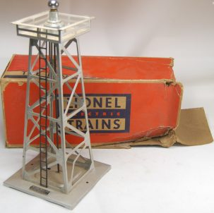 Other Collectibles 1945 LIONEL #394 ROTATING BEACON IN VG+/EXC; COMPLETE W/ FAIR ORIGINAL BOX
