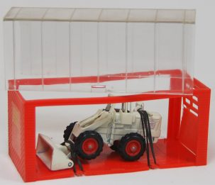 "Dinky 1968 DINKY #96 ""MINI DINKY"" PAYLOADER SHOVEL, OFF-WHITE MINT W/ EXC GARAGE BOX"