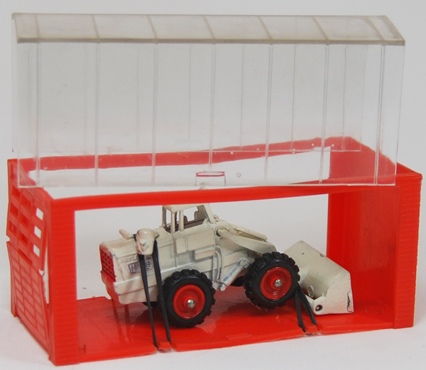 """Dinky 1968 DINKY #96 """"MINI DINKY"""" PAYLOADER SHOVEL, OFF-WHITE MINT W/ EXC GARAGE BOX"""