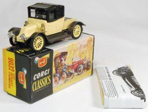 Corgi 1964 CORGI #9032 'CORGI CLASSICS' 1910 RENAULT PRIMROSE nr-MINT w/ nr-MINT BOX