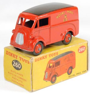 Dinky 1955 DINKY #260 ROYAL MAIL VAN near-MINT w/ VG BOX