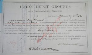 Other Collectibles 1882 CASH RECEIPT FOR $50,000 JAY AND GEORGE GOULD SIGNED, VERY RARE! CHOICE