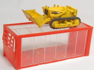 "Dinky 1968 DINKY #95 ""MINI DINKY"" INTERNATIONAL SKID SHOVEL near-MINT w/ EXC BOX"