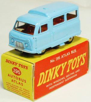 Dinky 1956 DINKY #295 ATLAS KENEBRAKE – BLUE W/ RED INTERIOR MINT W/ VG+ BOX