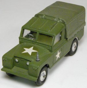 Corgi 1964 CORGI #357 MILITARY LAND ROVER MINT – NO BOX