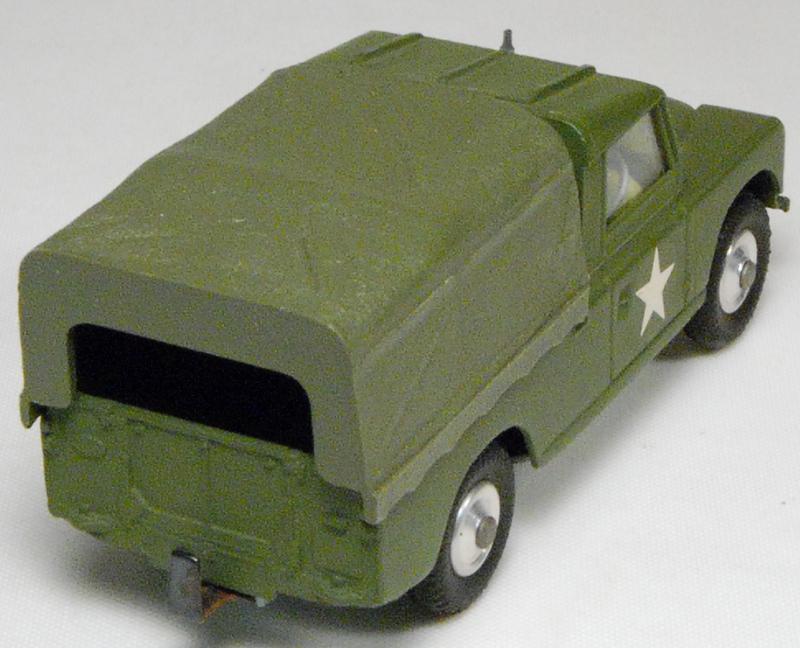 Corgi 1964 CORGI #357 MILITARY LAND ROVER MINT – NO BOX