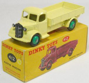Dinky 1954 DINKY #412 AUSTIN WAGON, near-MINT+ W/ EXC CORRECT BOX