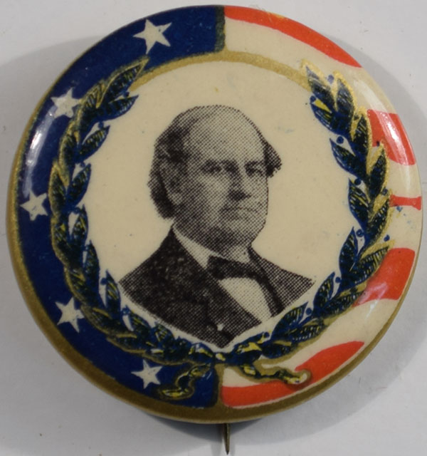 Other Collectibles 1908 1 1/4″ GRAPHIC & UNUSUAL BRYAN CELLULOID CAMPAIGN BUTTON near-MINT