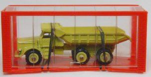 """Dinky 1968 DINKY #97 """"MINI DINKY"""" EUCLID R-40 DUMP TRUCK MINT W/ near-MINT BOX"""