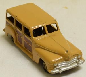 Dinky 1950 DINKY #27f ESTATE CAR VG+ WITH OXIDIZED BASE CAT $90