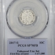 New Certified Coins 2017-S LINCOLN CENT – SHIELD ENHANCED UNC SET – PCGS SP-70 RD