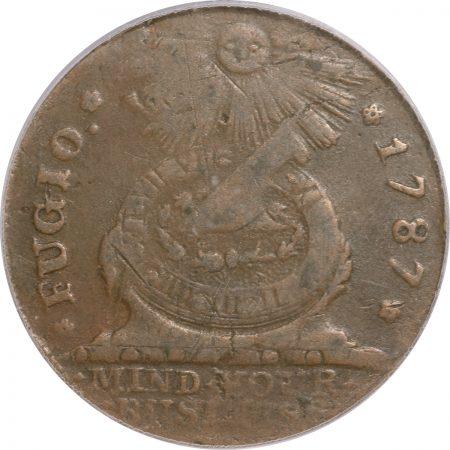 1787-FUGIO-STATES-UNITED-4CINQ-PCGS-VF30-150-2