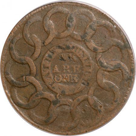 1787-FUGIO-STATES-UNITED-4CINQ-PCGS-VF30-150-3