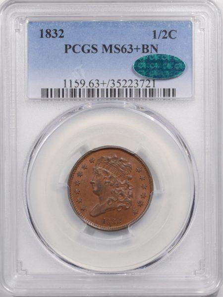 1832-H1C-PCGS-MS63BN-CAC-721-1