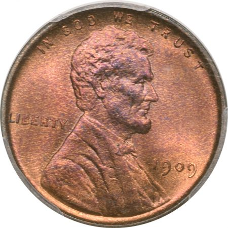 Coin World/Numismatic News Featured Coins 1909 VDB LINCOLN CENT DDO FS-1102 (012.1) PCGS MS-65 RB, PQ!