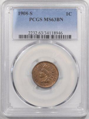 1908s-1C-PCGS-MS63BN-946-1