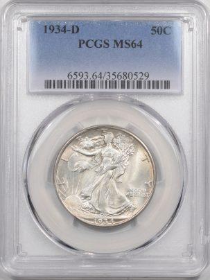 1934d-50C-PCGS-MS64-529-1