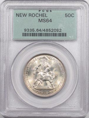 1938-NEWROCHELLE50C-PCGS-MS64-092-1