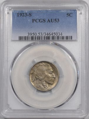 1923s-5C-PCGS-AU53-034-1