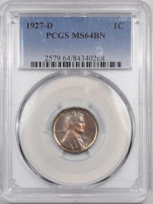 1927d-1C-PCGS-MS64BN-268-1