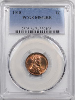 1918-1C-PCGS-MS64RB-106-1