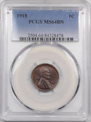 1918-1C-PCGS-MS64BN-478-1