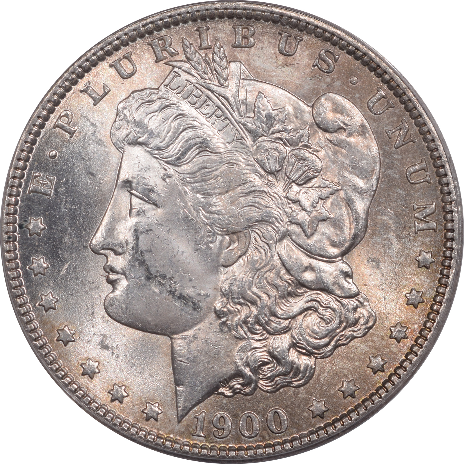 1900-O/CC MORGAN DOLLAR VAM-11 TOP 100 ANACS MS-62